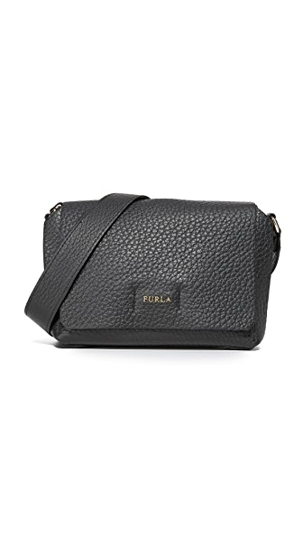 Furla Capriccio Mini Cross Body Bag - Onyx