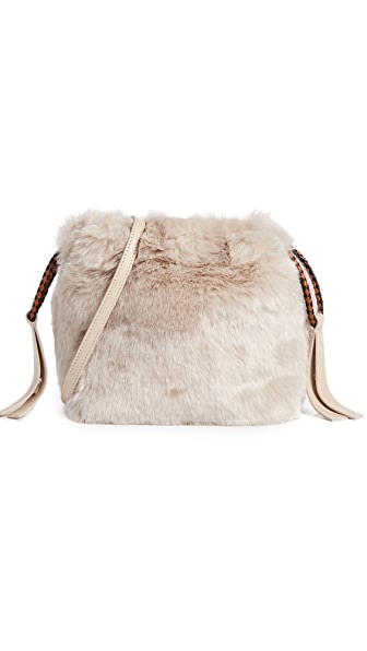 Furla Caos Cross Body Bag In Acero
