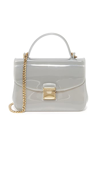 Furla Candy Sugar Mini Cross Body Bag - Nebbia