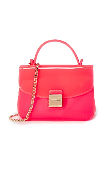 Furla Candy Sugar Mini Cross Body Bag - Fluro