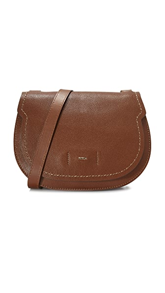 Furla Gioia Shoulder Bag - Chocolate