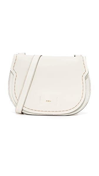 Furla Gioia Shoulder Bag - White
