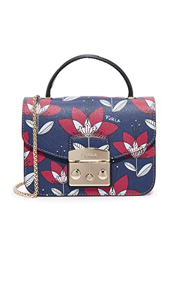 Furla Metropolis Top Handle Mini Cross Body Bag
