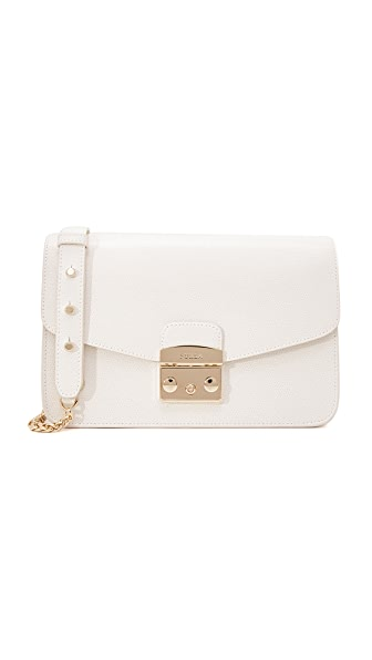 Furla Metropolis Small Shoulder Bag - Petalo