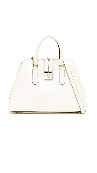 Furla Peggy Medium Dome Satchel In Petalo