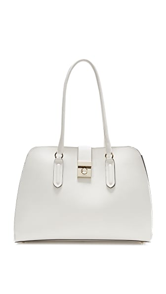 Furla Peggy Medium Satchel In Petalo