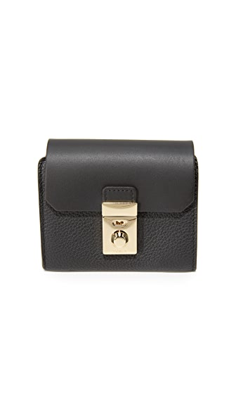 Furla Peggy Small Wallet - Onyx