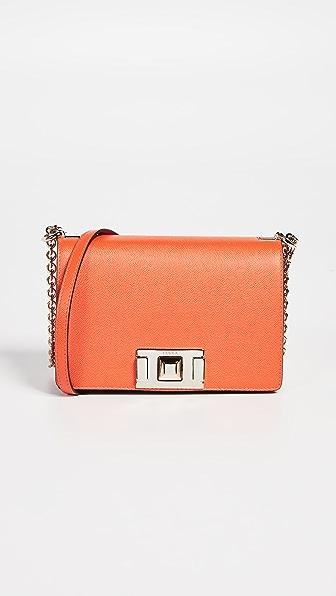 Mimì Mini Crossbody Bag in Mandarin