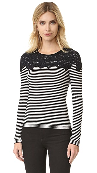 Fuzzi Long Sleeve Sweater