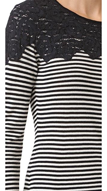 Fuzzi Long Sleeve Sweater