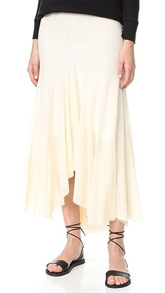 Fuzzi Long Skirt