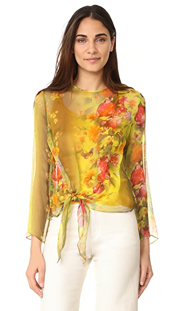 Fuzzi Long Sleeve Blouse