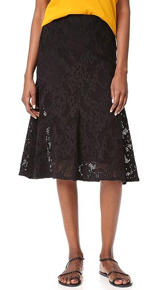 Fuzzi Knee Length Skirt