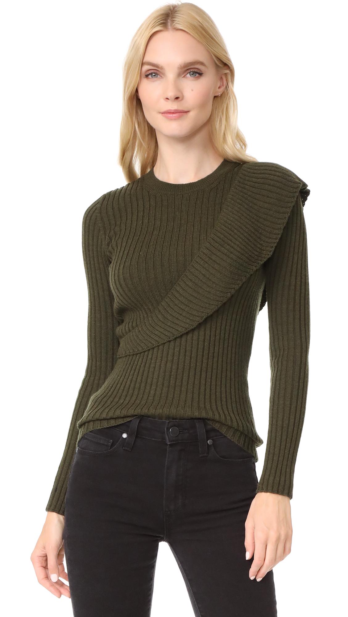 Fuzzi Ruffle Sweater
