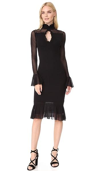 Fuzzi Ruffle Dress