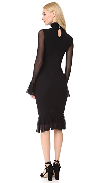 Fuzzi Ruffle Dress