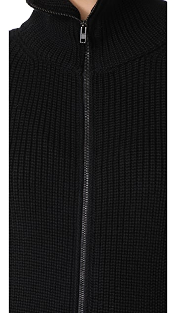 Fuzzi Long Sleeve Cardigan