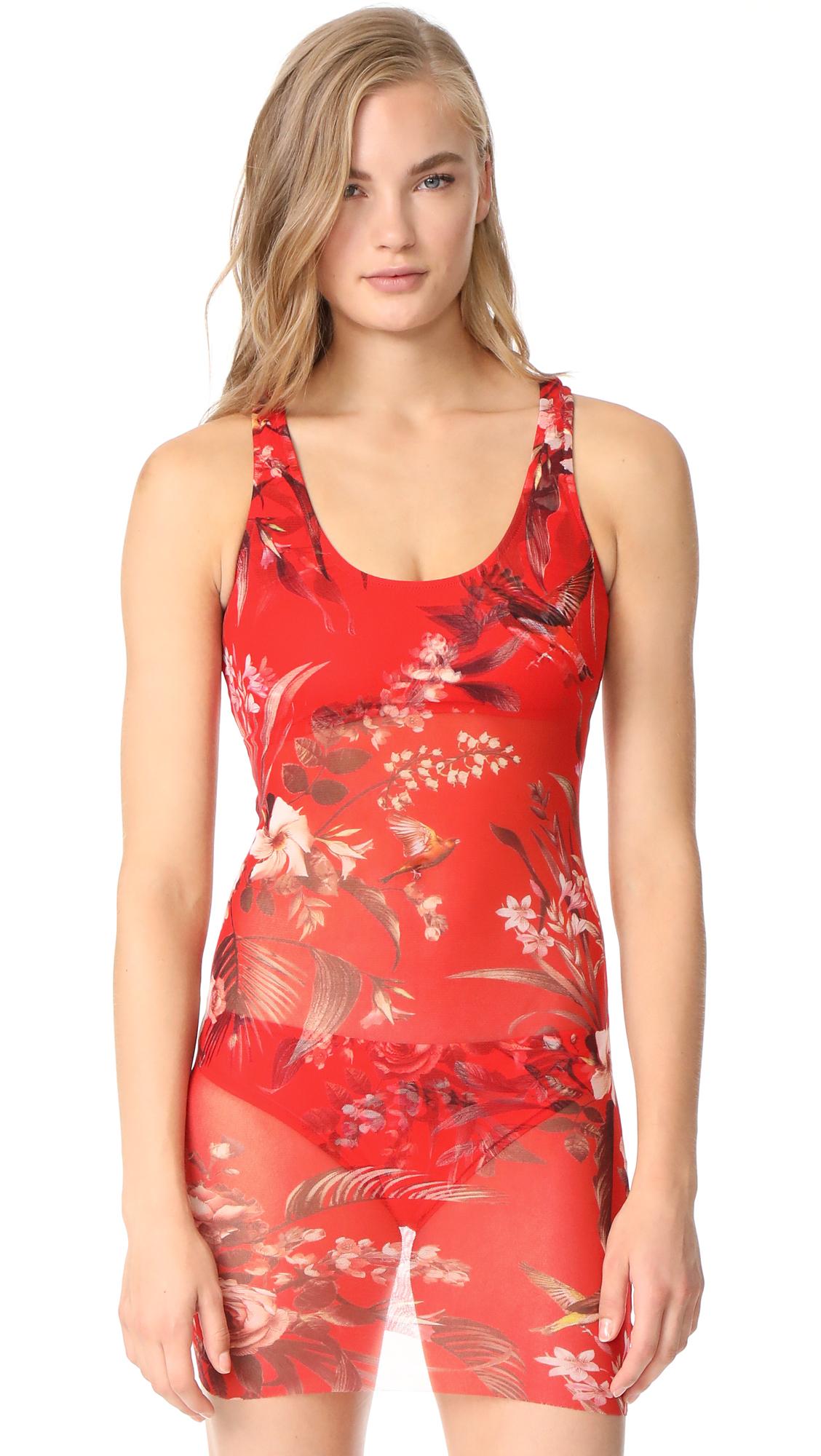 Fuzzi Stampa Hummingbird Swimsuit