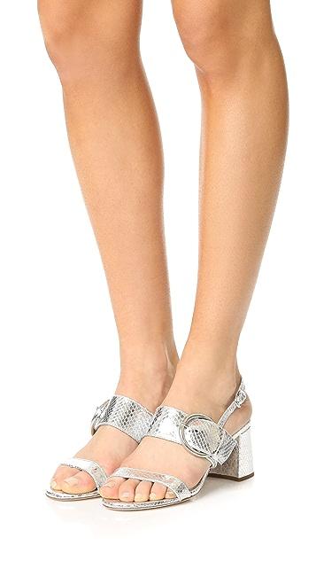 Frances Valentine Betty Block Heel Sandals