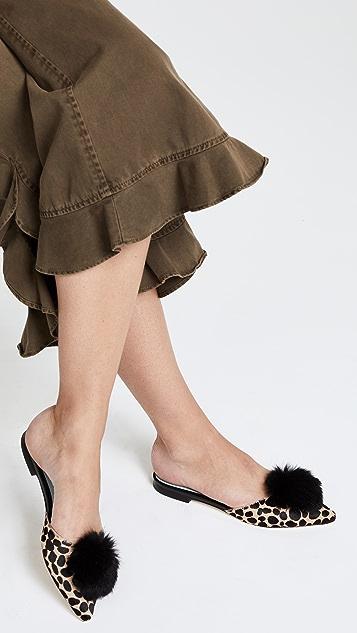Frances Valentine Pauline Haircalf Mule Slides