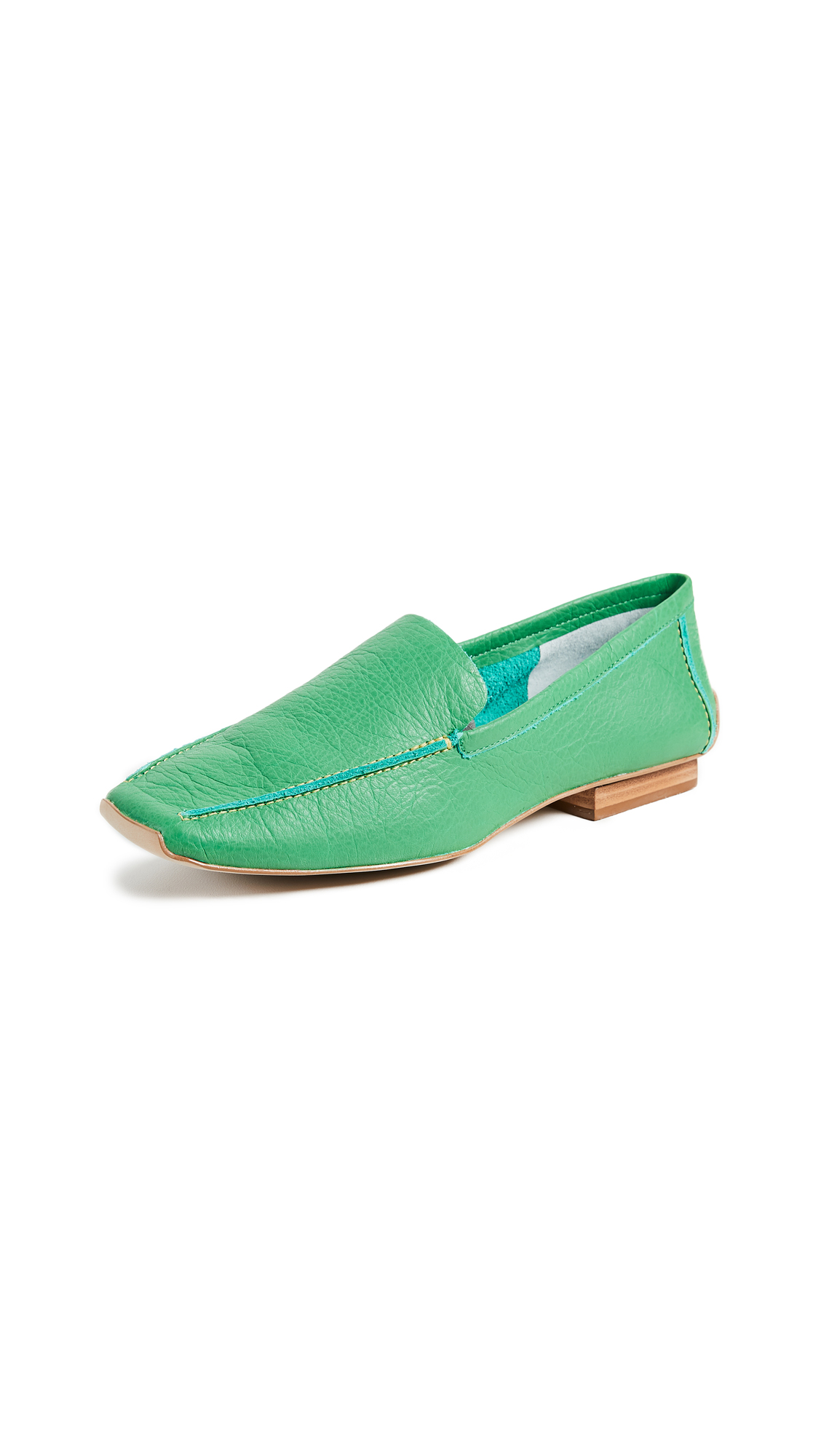 Frances Valentine Elyce Loafers - Grass