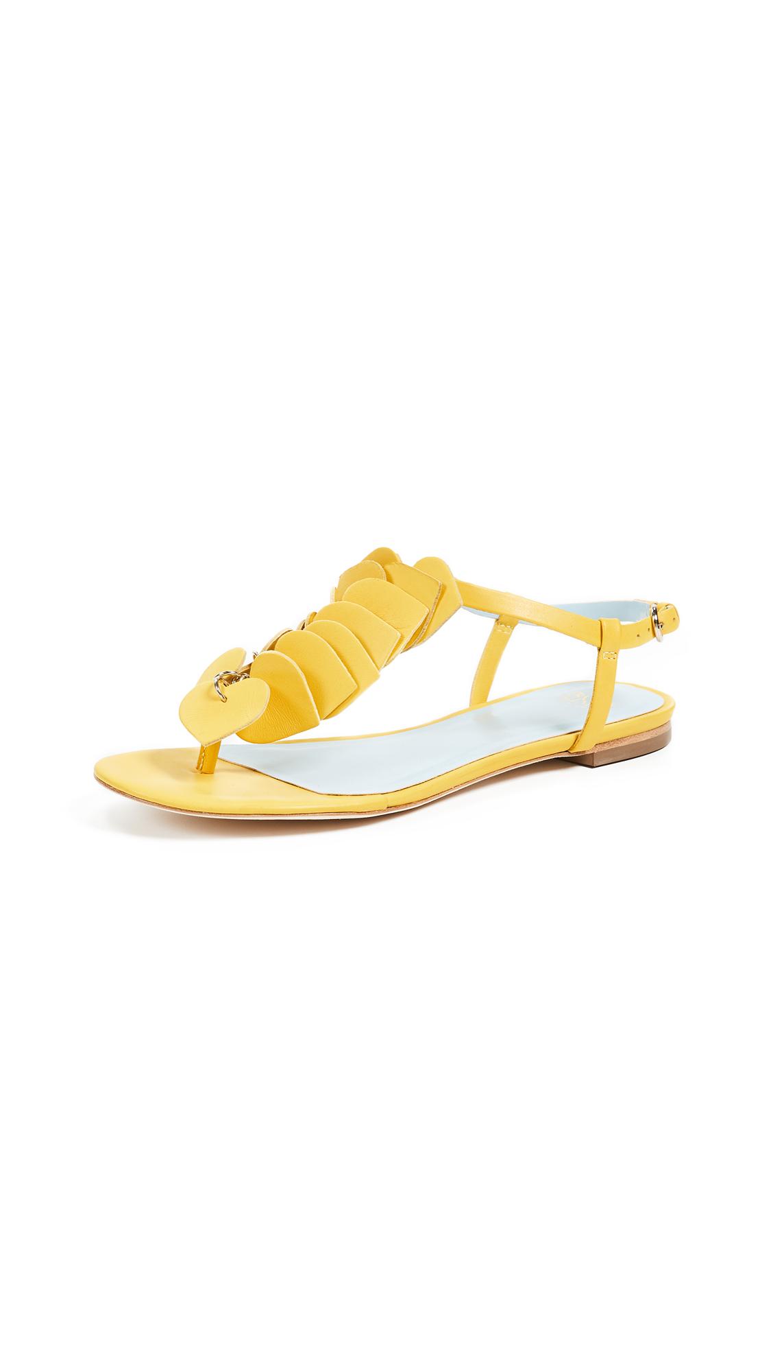 Frances Valentine Allison Sandals - Yellow