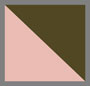 橄榄绿/粉色