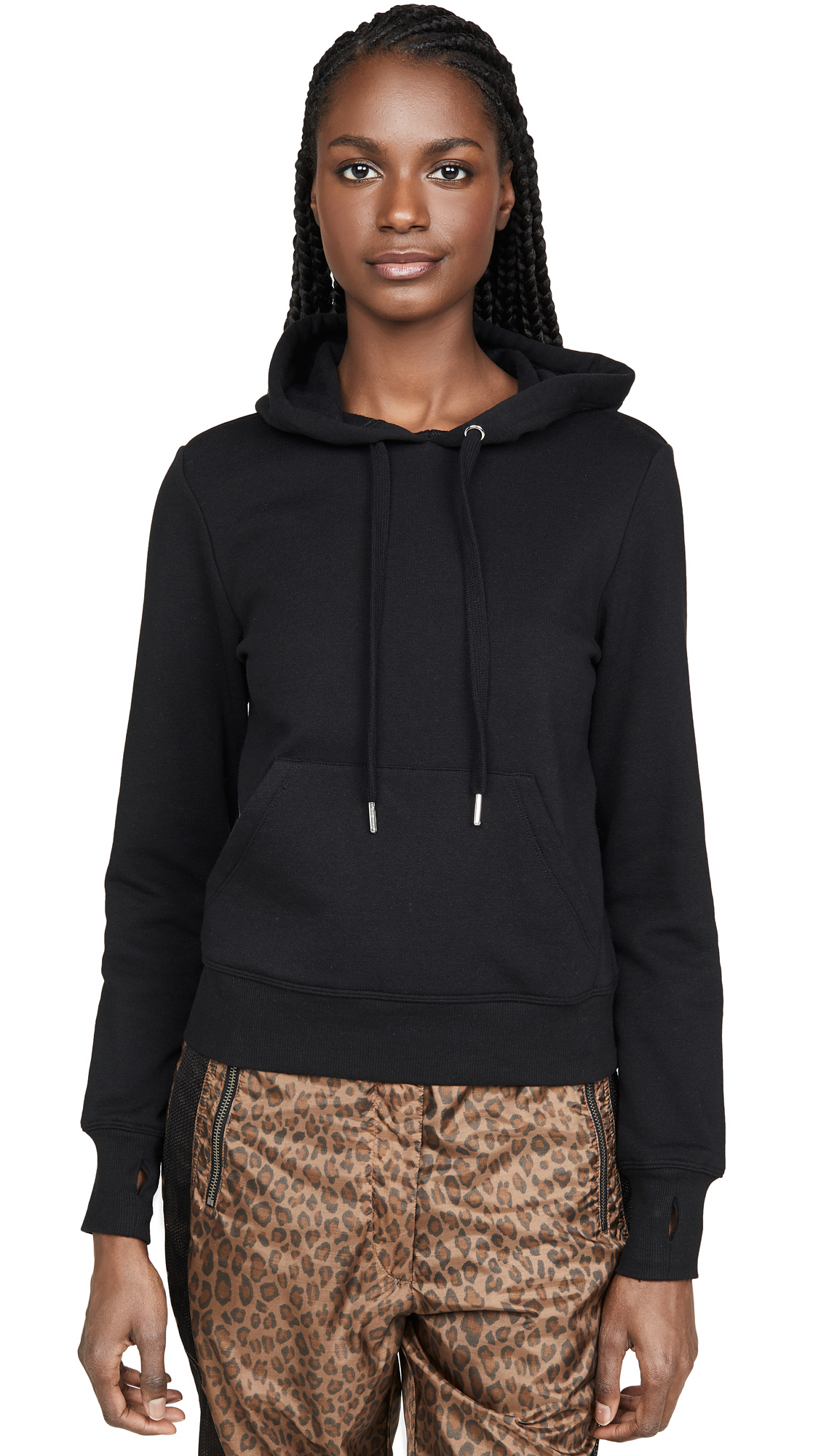 Buy Good American Active online - photo of Good American Active Laced Back Hoodie Jacket