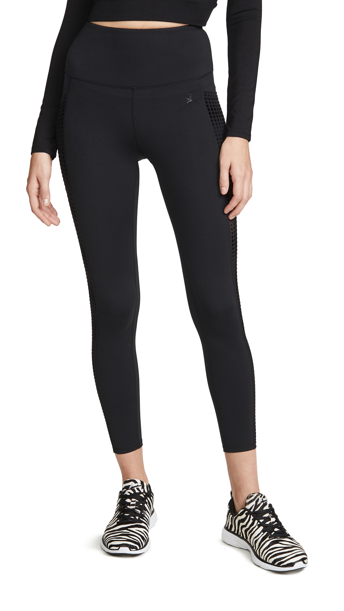 Buy Good American Active online - photo of Good American Active Ascending Dot Pocket Leggings