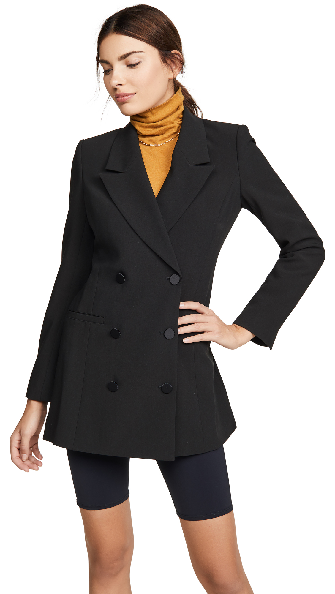 Buy Good American Long Blazer Dress online beautiful Good American Clothing, Dresses