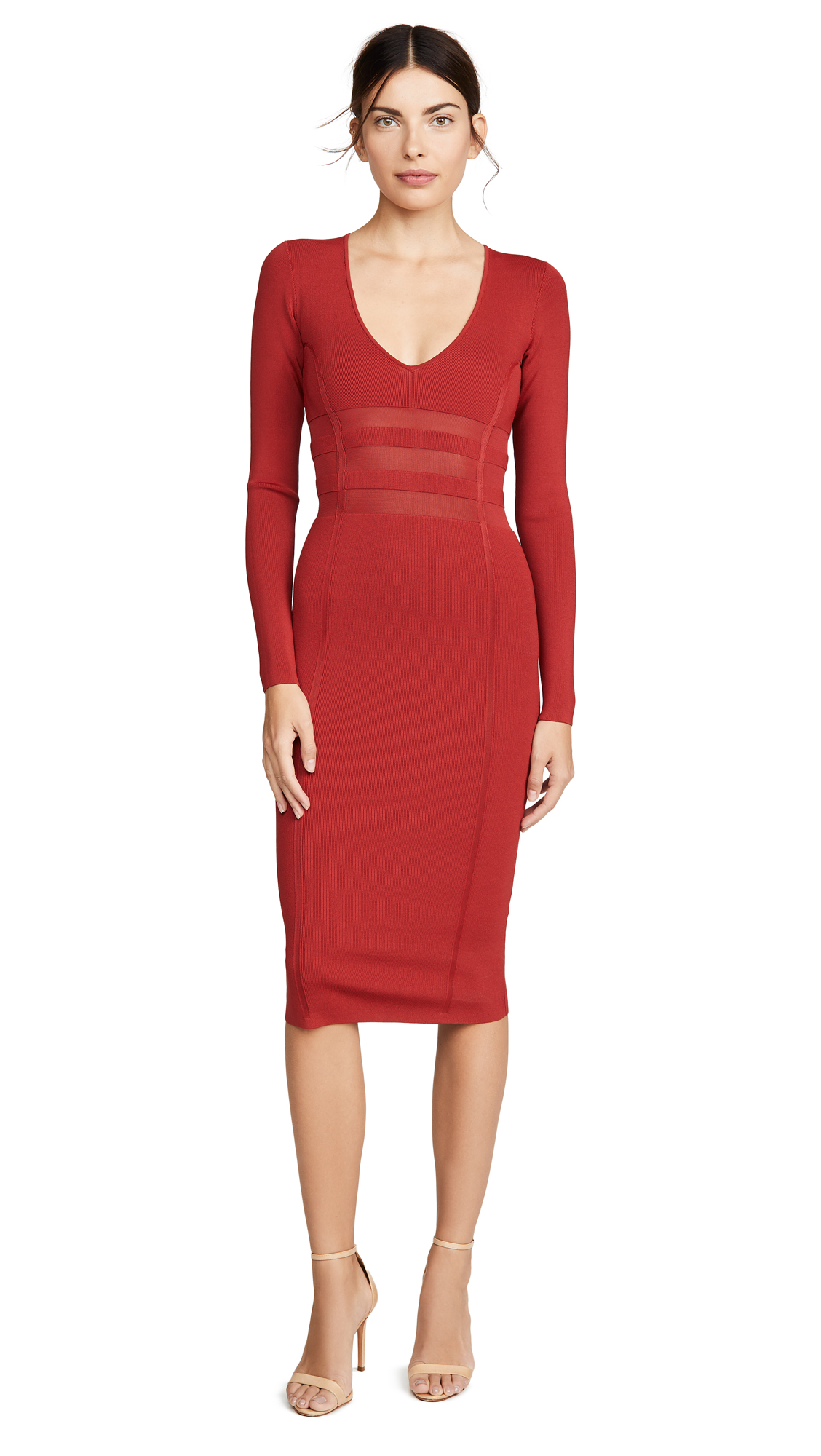 Buy Good American online - photo of Good American The Low Down Knit Dress