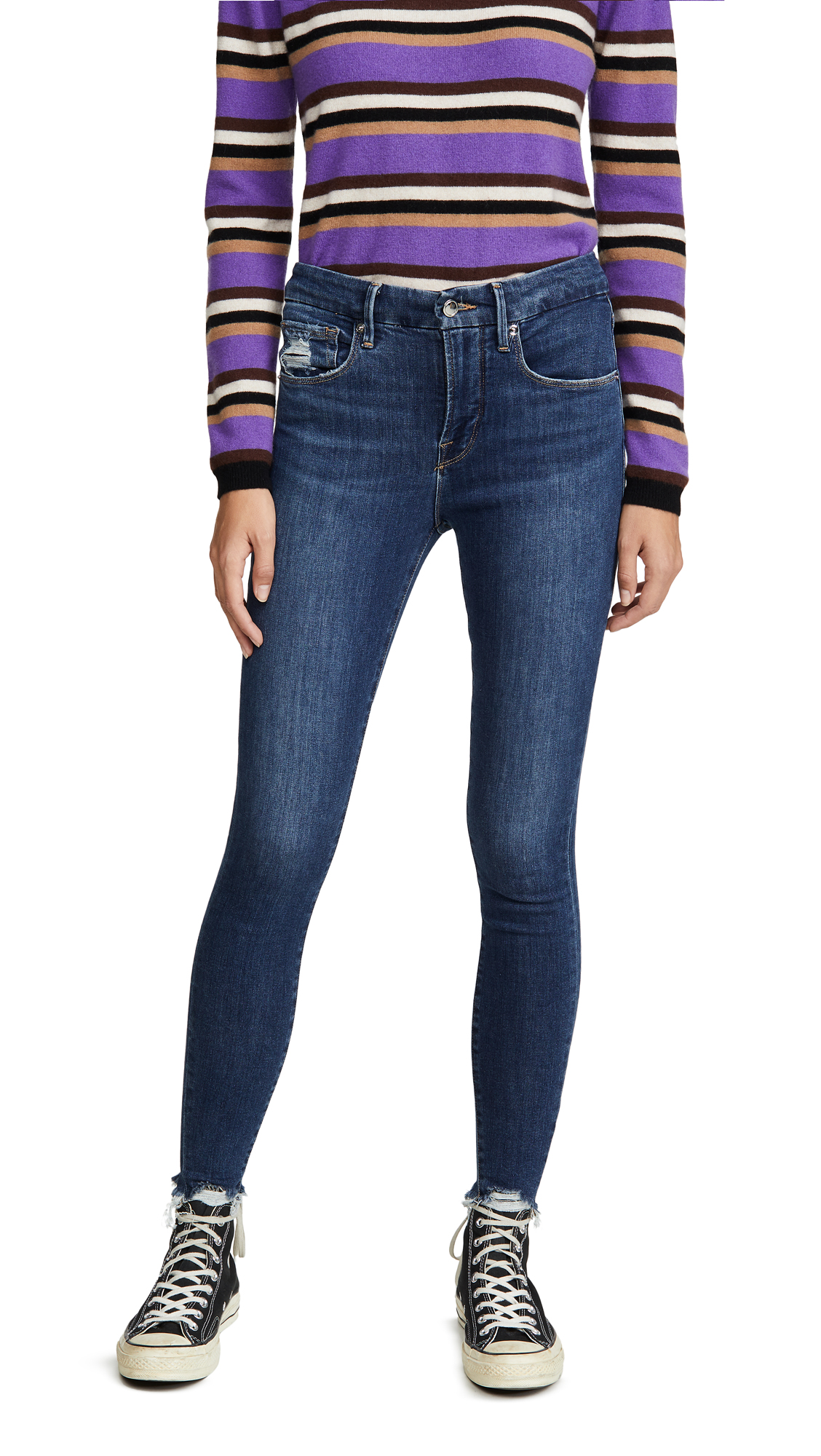 Buy Good American online - photo of Good American Good Legs Extreme Stiletto Jeans