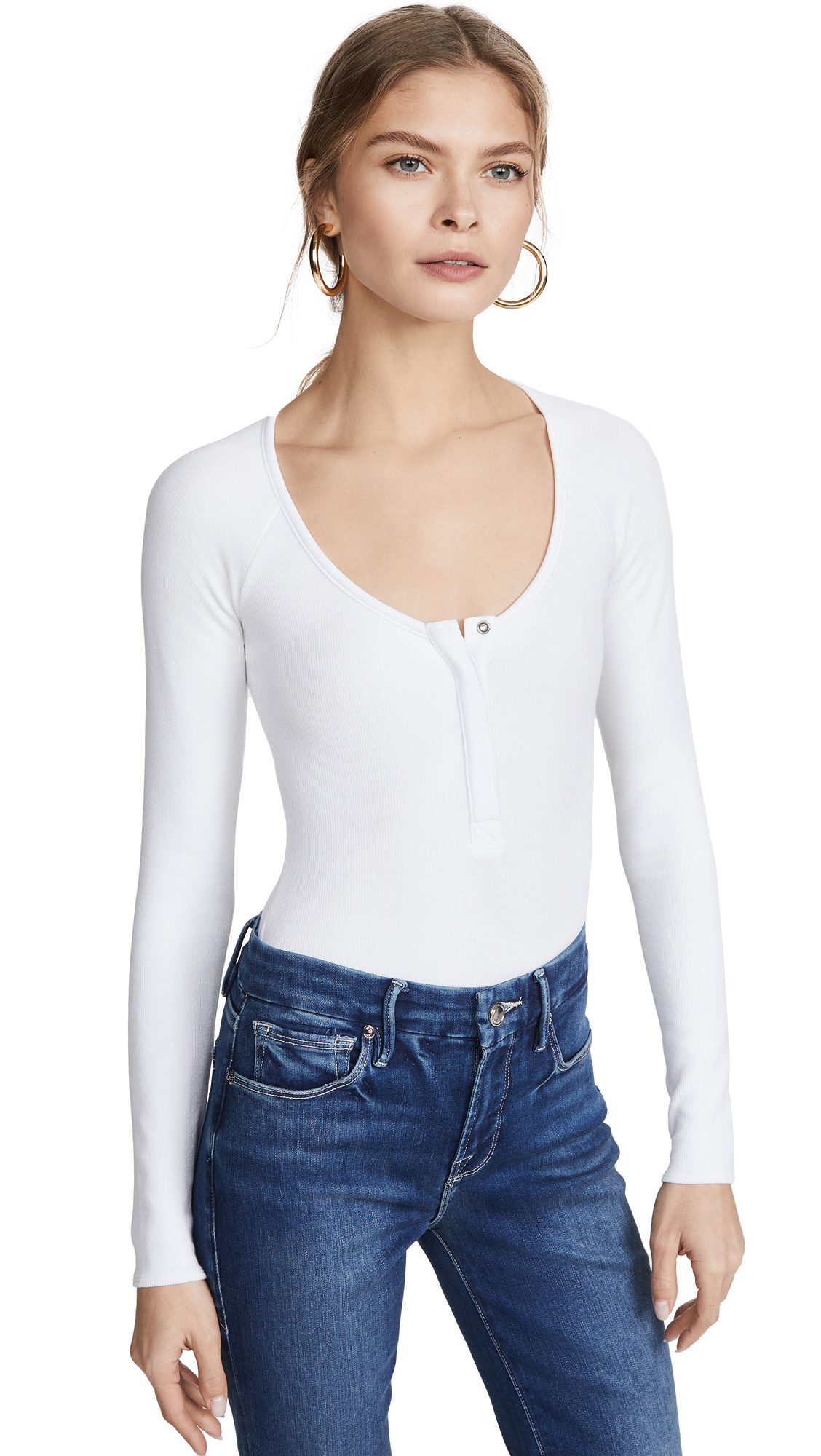 Buy Good American online - photo of Good American Button Front Bodysuit