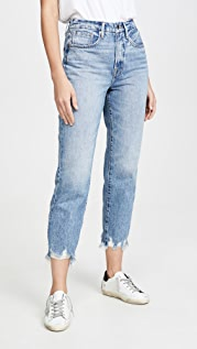 Good American Good Vintage Chewed Hem Jeans