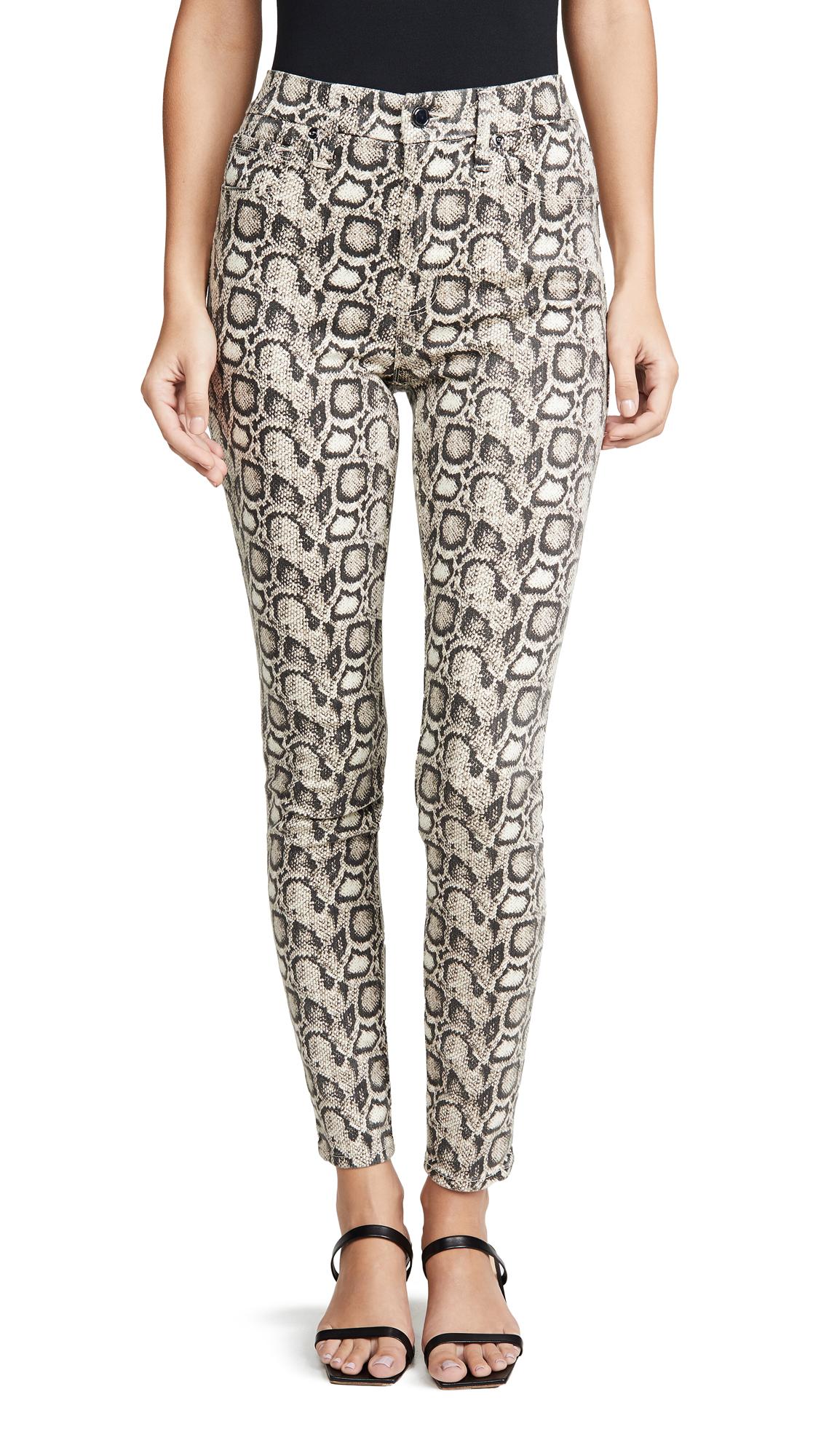Buy Good American online - photo of Good American Good Legs Snake Skinny Jeans