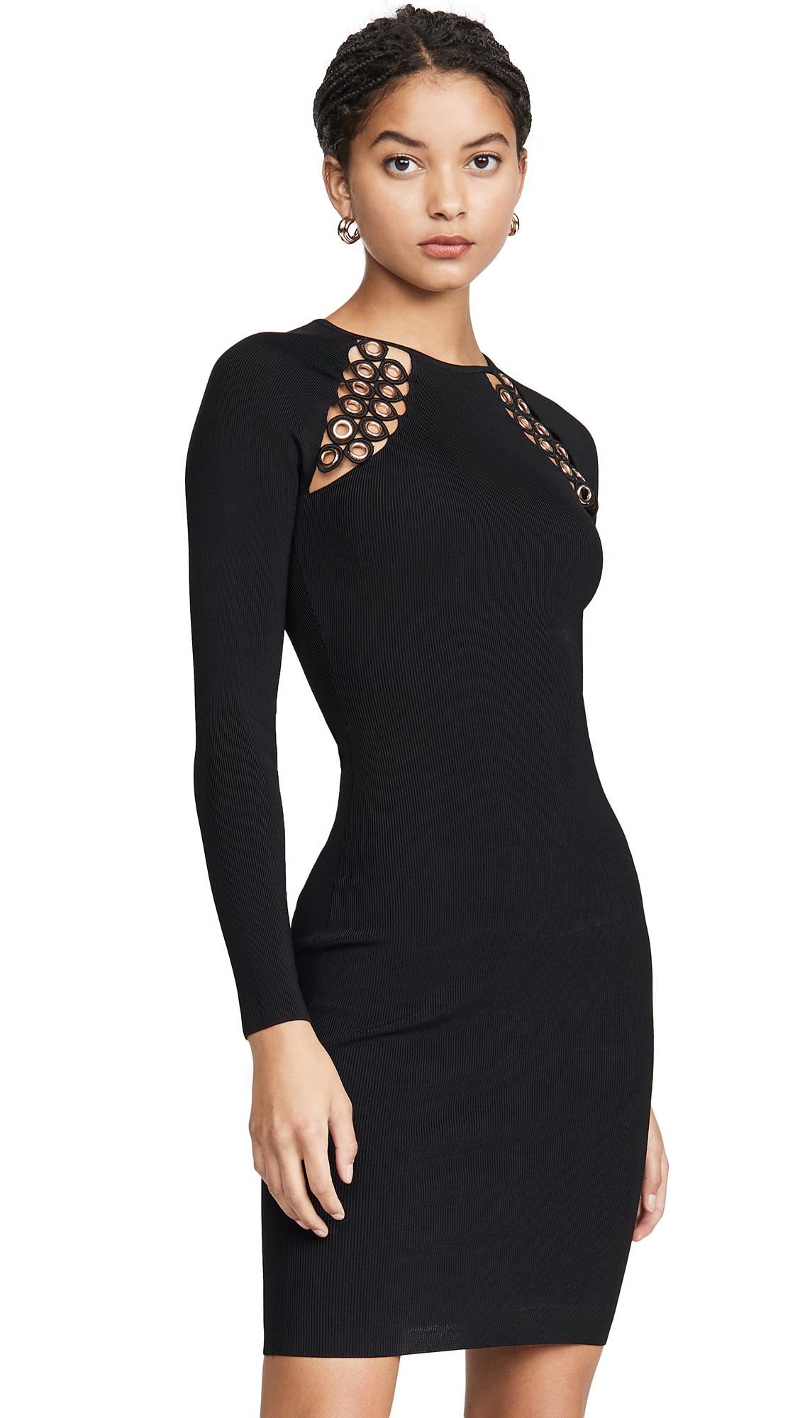 Buy Good American online - photo of Good American Hardware Raglan Dress