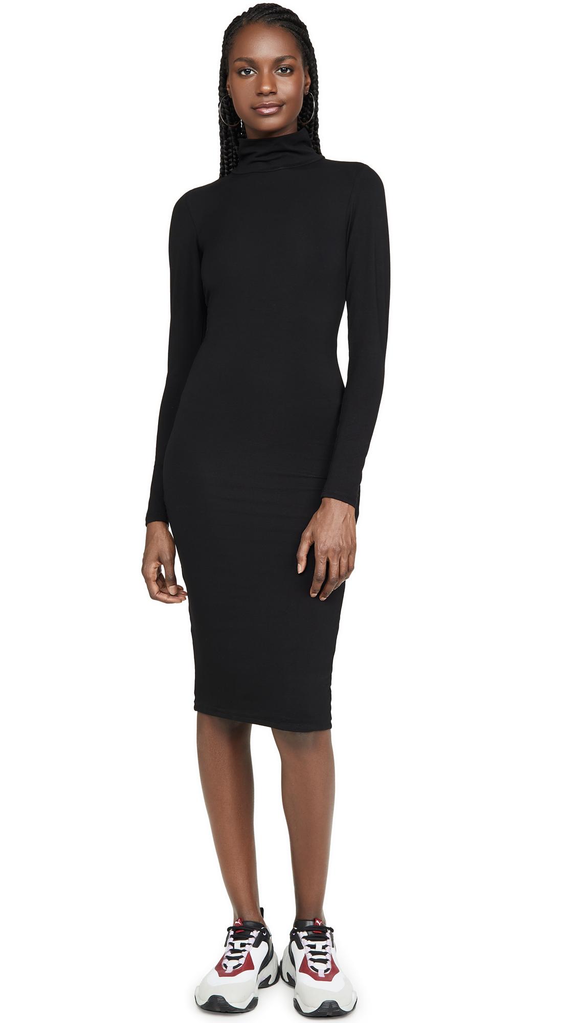 Buy Good American Long Sleeve Turtleneck Dress online beautiful Good American Clothing, Dresses