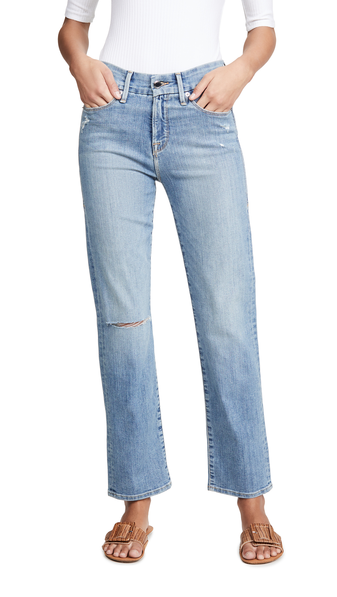 Buy Good American online - photo of Good American Good Straight Jeans