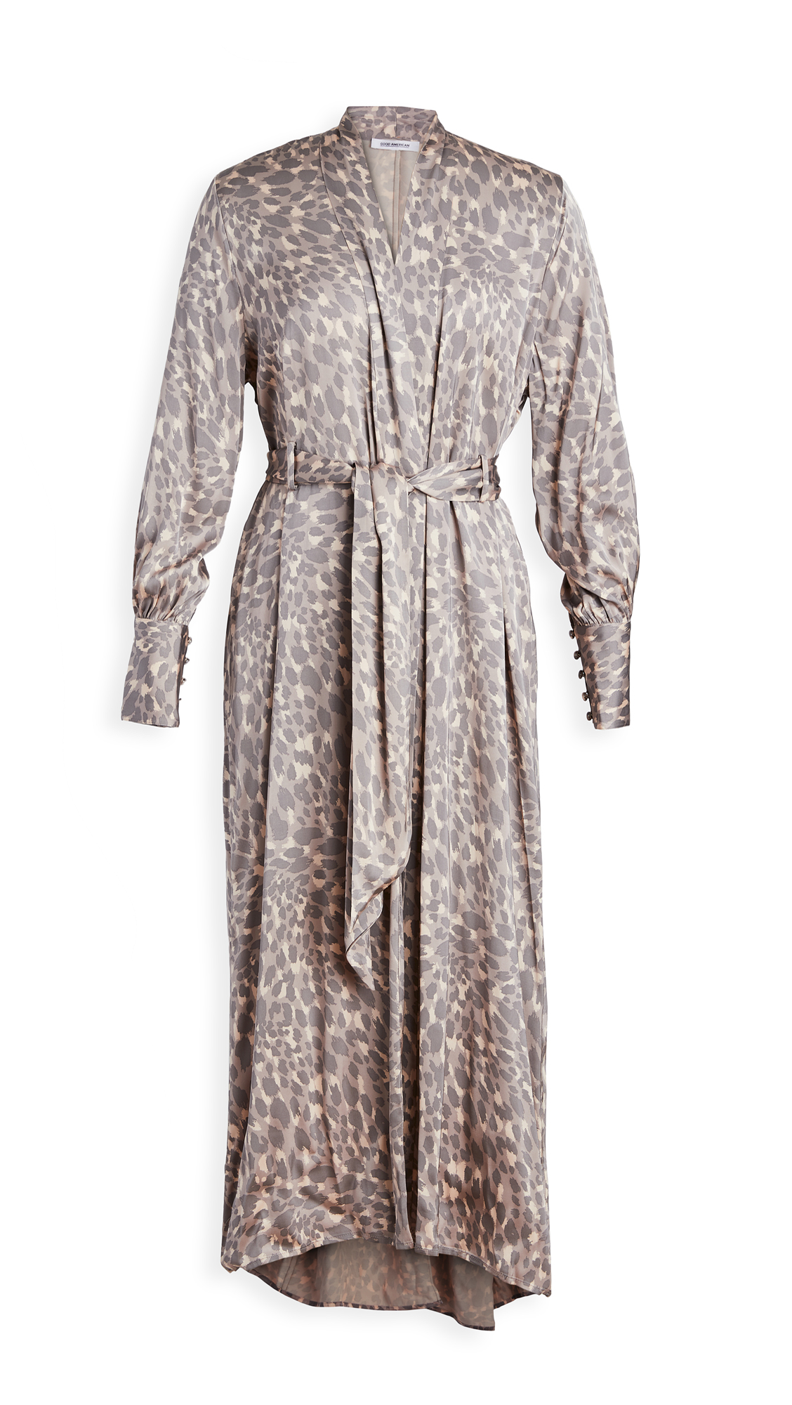 Good American Honey Leopard Robe Dress – 30% Off Sale