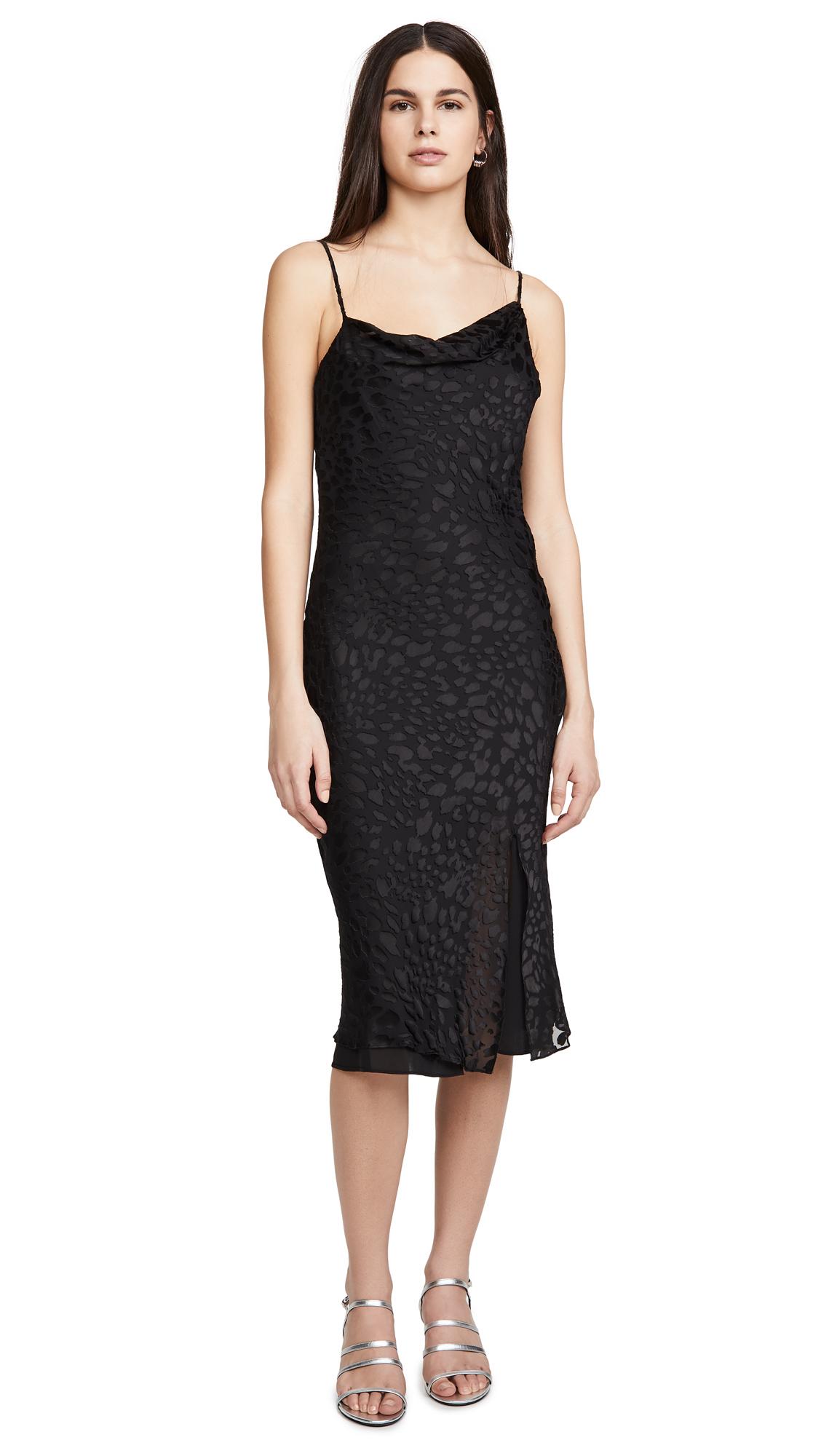 Buy Good American Cowl Asymmetrical Dress online beautiful Good American Clothing, Dresses