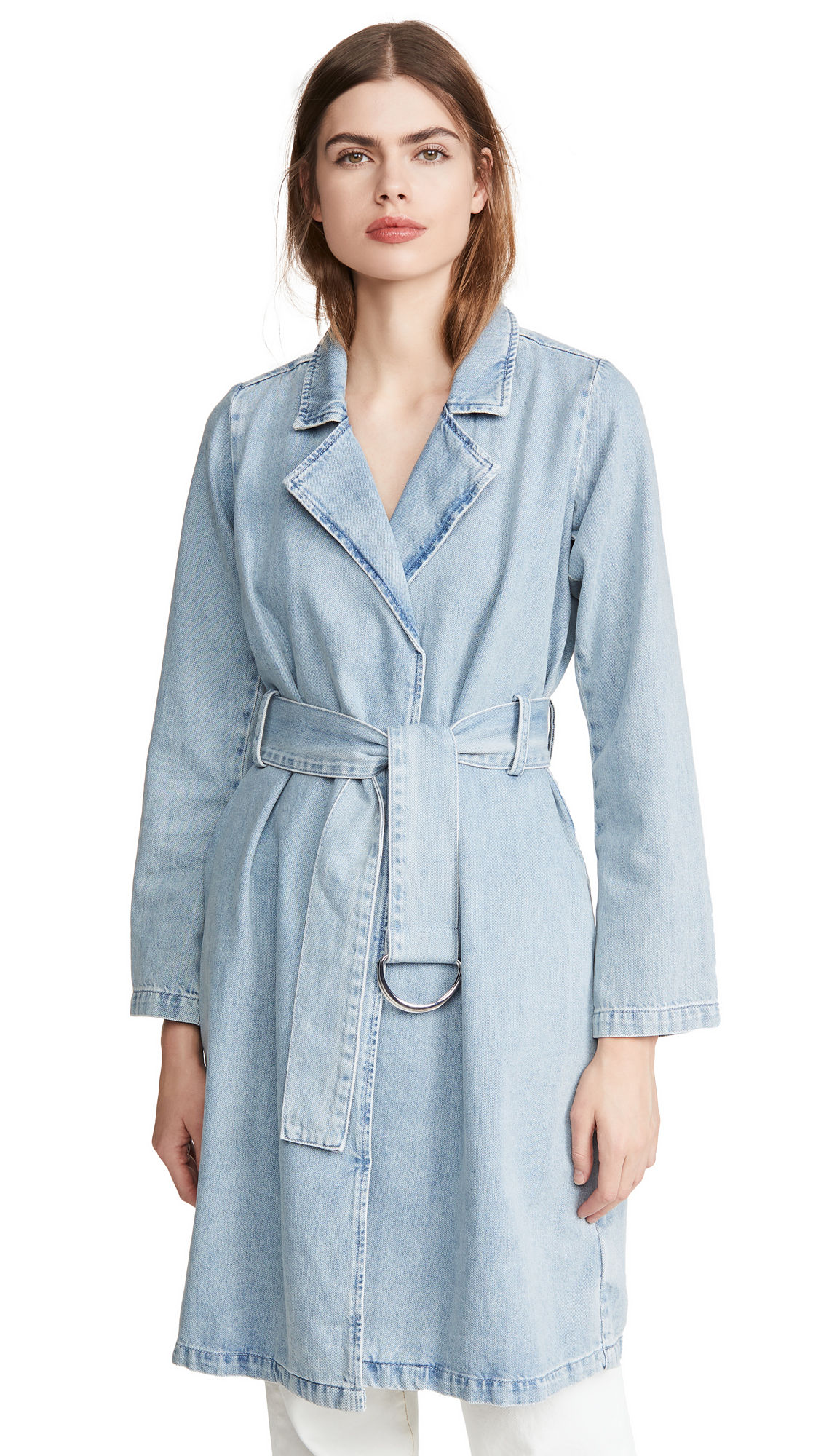 Buy Good American online - photo of Good American Denim Trench