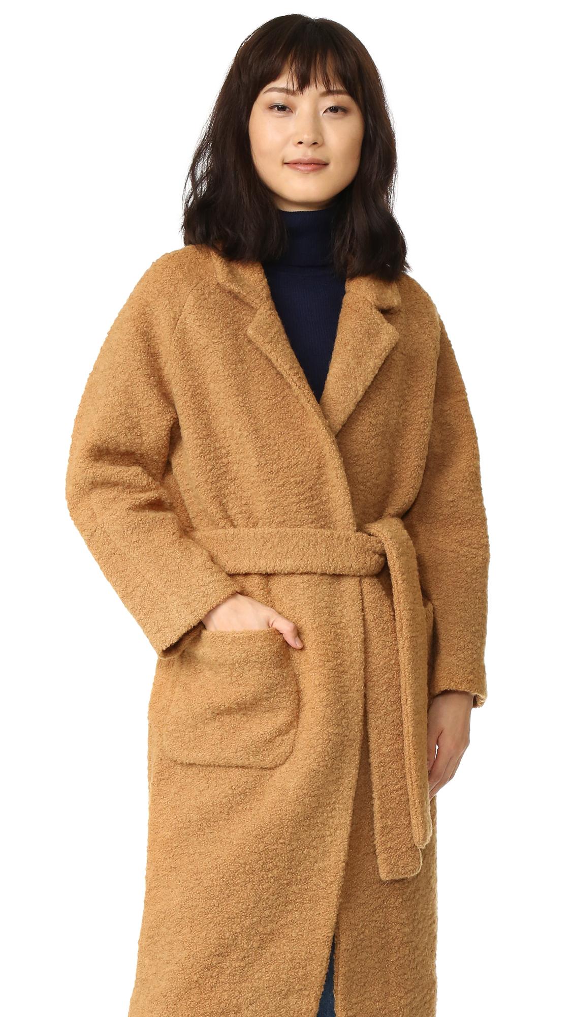world-wide selection of convenience goods best collection GANNI Fenn Coat   SHOPBOP