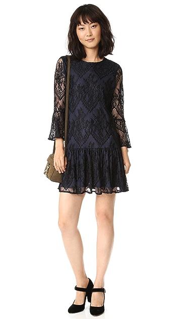 Ganni Larkin Lace Dress