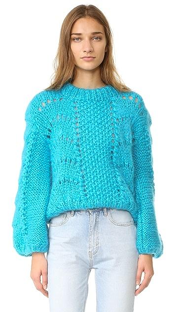 Ganni The Julliard Mohair Sweater
