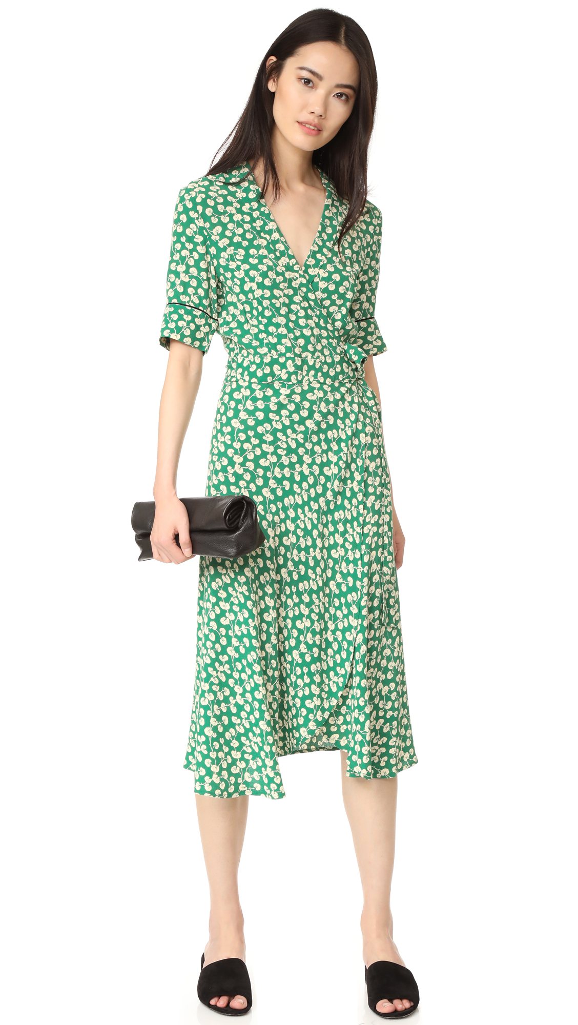 93ba588c GANNI Dalton Crepe Dress | SHOPBOP