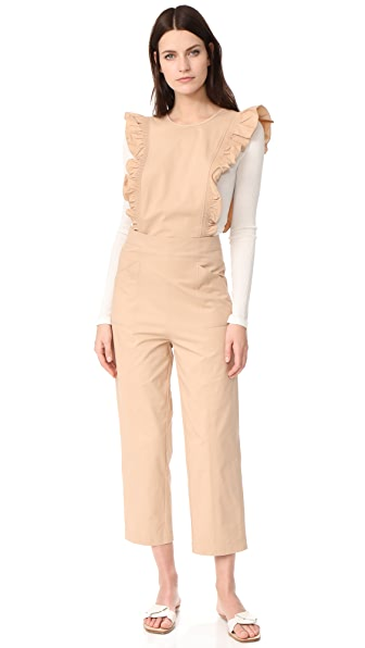 Ganni Phillips Jumpsuit - Cuban Sand