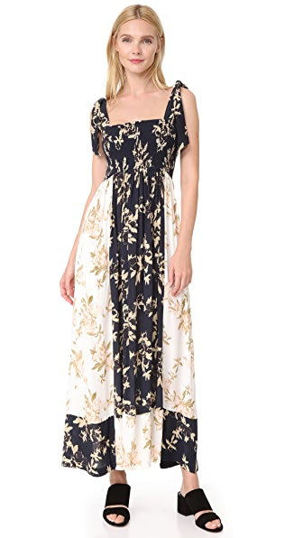 Ganni St. Pierre Dress - Total Eclipse