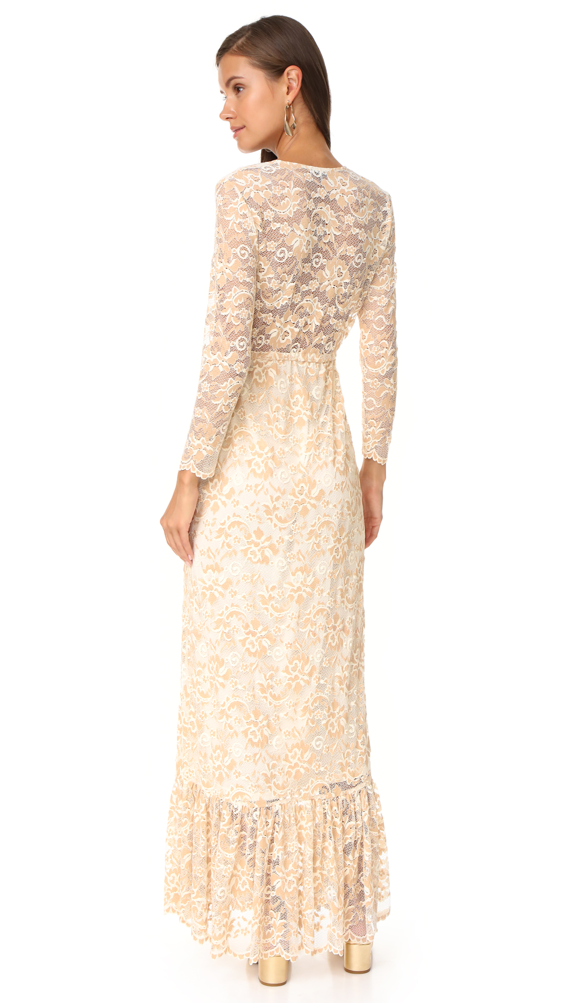 0096a009 GANNI Flynn Lace Dress | SHOPBOP