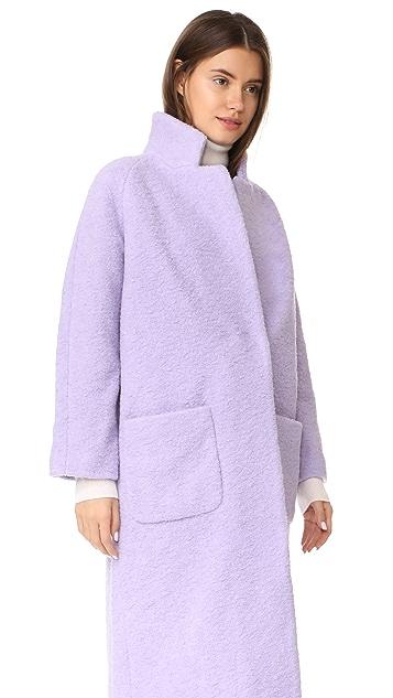 Ganni Fenn Wrap Coat