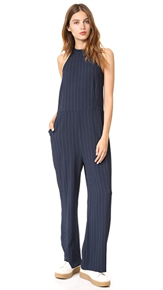 Ganni Clark Jumpsuit - Total Eclipse